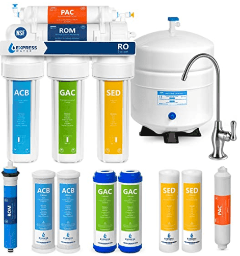 Express Water RO5DX reverse osmosis for well water