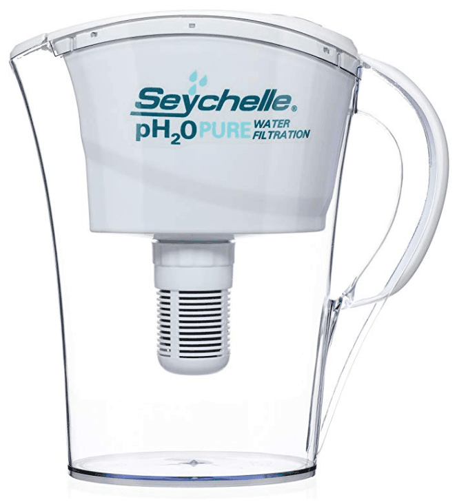 Seychelle pH2O Alkaline Filter Pitcher