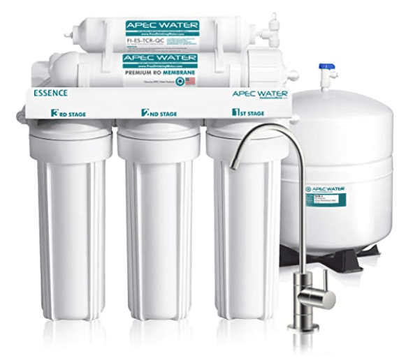 APEC ROES-50 RO System for private well water