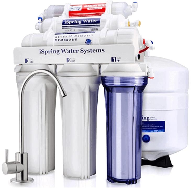 iSpring RCC7AK Under Sink Reverse Osmosis System