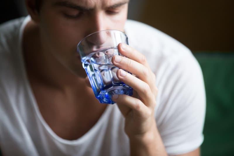 tasting distilled water