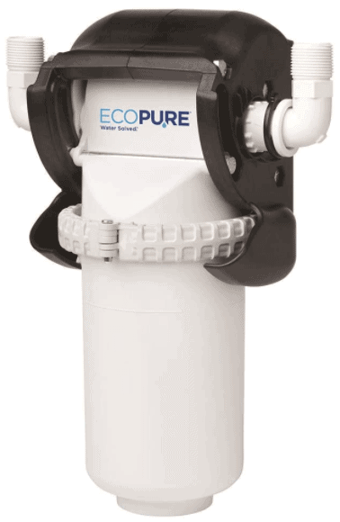 EcoPure EPWHE filter to remove sediment from water