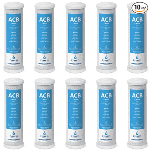 ACB activated carbon block replacement filters