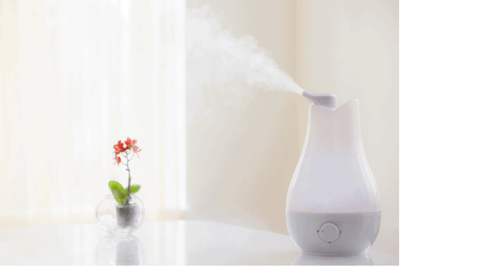 purified water in humidifier